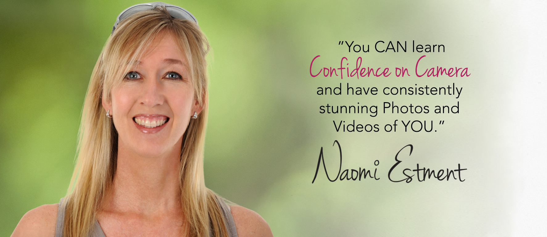 Naomi Estment - Confidence on Camera Coach
