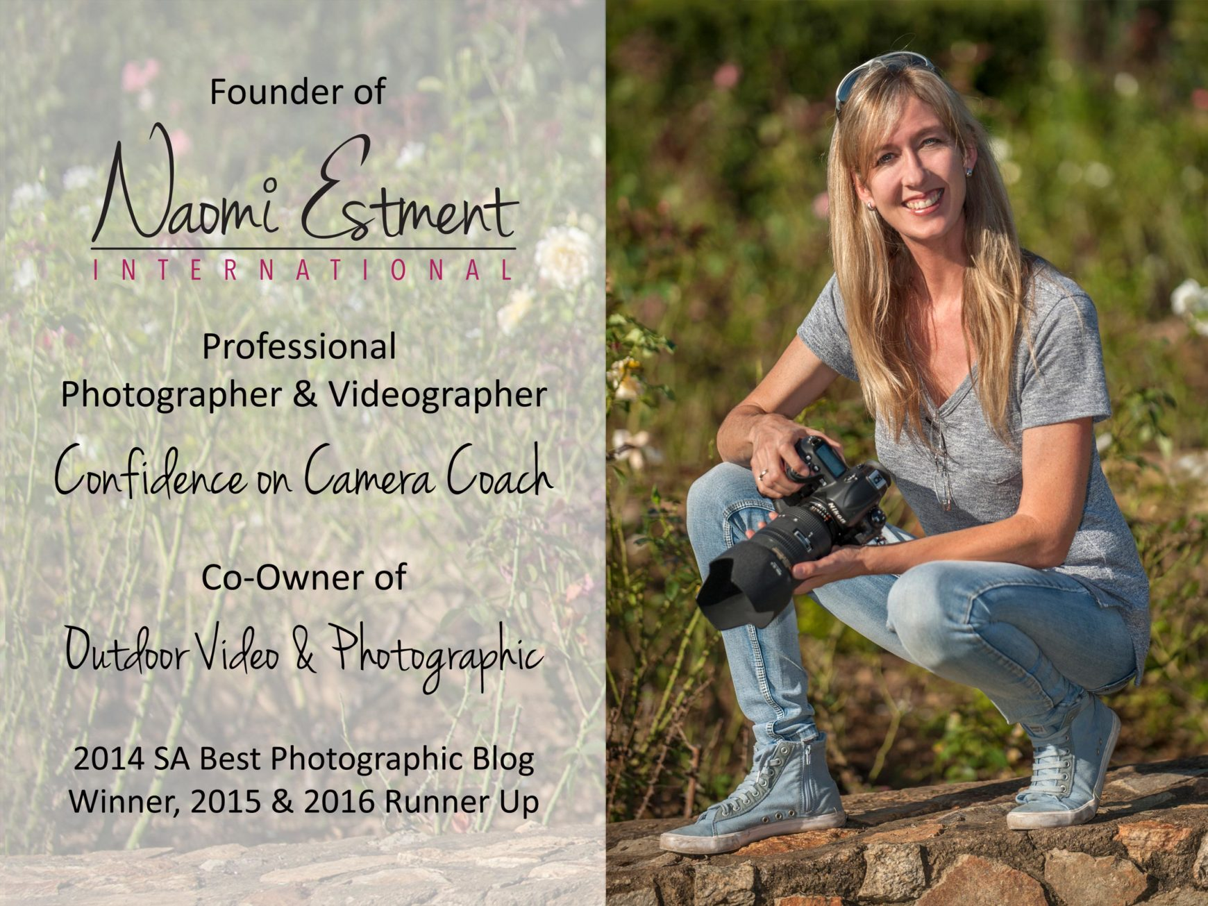 Naomi Estment Brief Bio