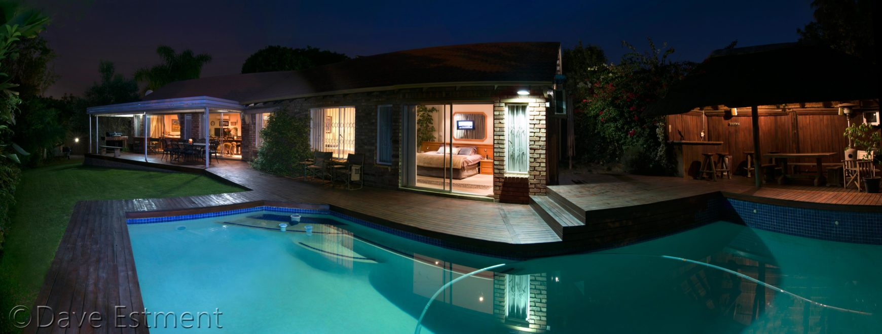 Home by Night photographed by Dave Estment