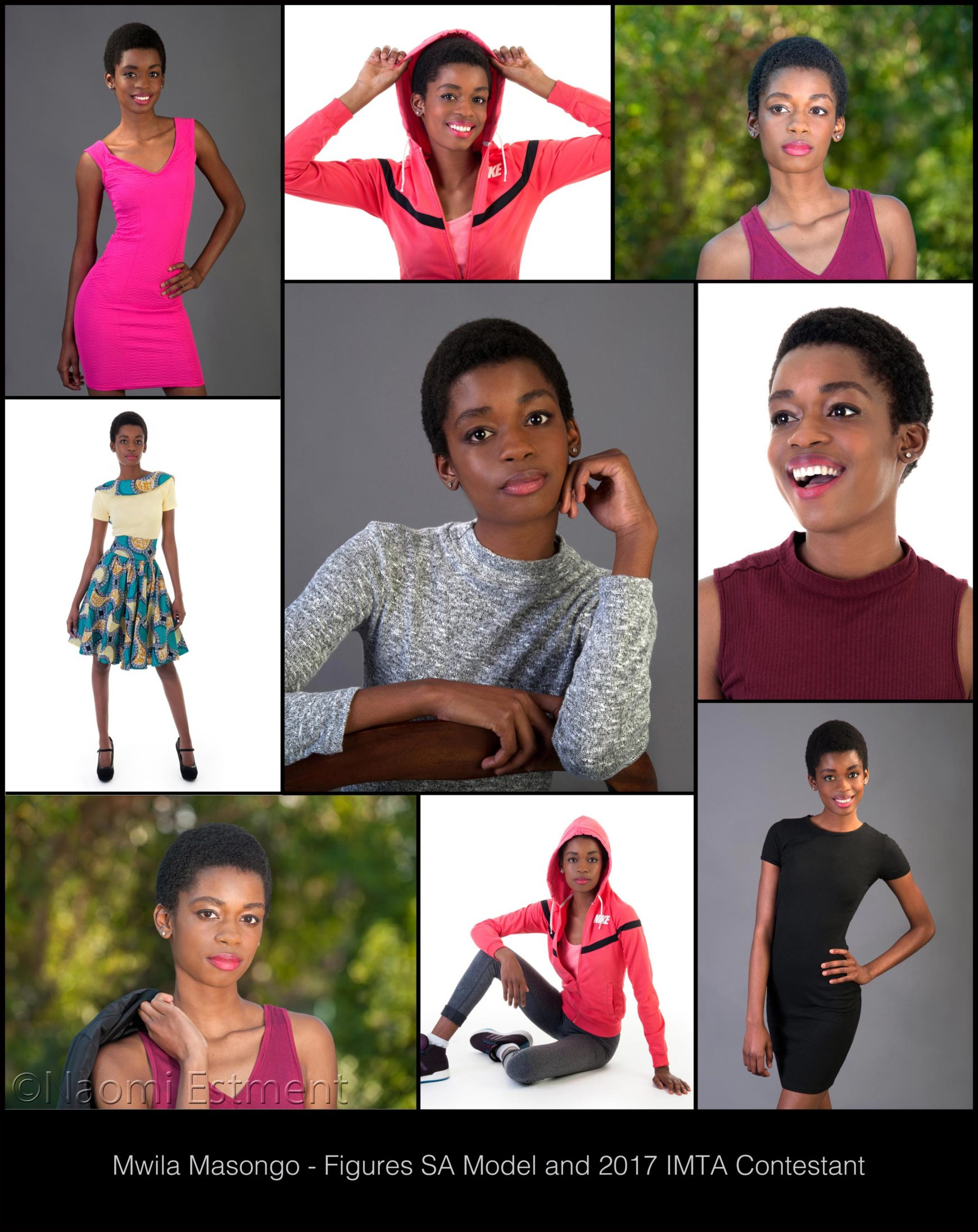 Mwila Masongo - IMTA Modeling Portfolio by Naomi Estment