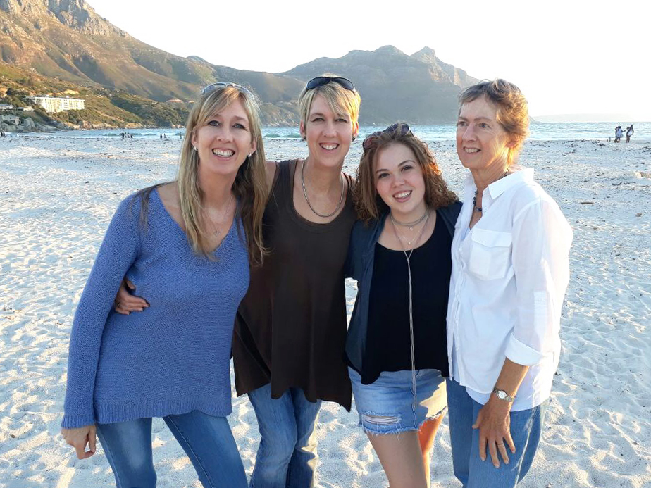 Naomi Estment & Family in Cape Town